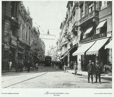 Rua Quinze de Novembro, 1920.
