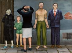 Major Andrzej Wroblewski exhibition in Spain - Olive Press News Spain Olive Press, Social Realism, New Spain, Figure Painting, Contemporary Paintings, Figurative Art, New Art, Oil On Canvas, Surrealism