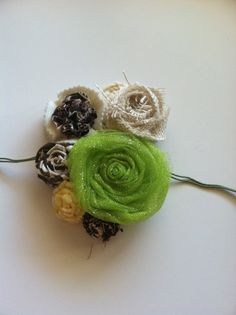 Winter to Spring Handmade Flower Wreath