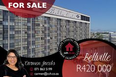 BELLA VISTA RETIREMENT COMPLEX For persons older than 50, enjoy peace of mind in this safe and secure retirement 1 bedroom Bachelors flat. Levies includes, 24 hour security on site, building maintenance, basic cleaning of unit twice a month. Added extras - Frail care facility - Restaurant - Lounge Area - Garden Area - Library - Communal pool - under maintenance Rental is also an option at R4300 a month. #CCH #capetown #bellville #bellavista #apartment #1bedroom #capetownproperties 1 Bedroom Apartment, Studio Apartment, Restaurant Lounge, Flats For Sale, Apartments For Sale, Coastal Homes, Lounge Areas, Peace Of Mind, The Unit