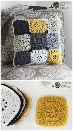 Easy Free Pillow Crochet Pattern - 49 Free Crochet Pillow Patterns for Decorating Your Home - DIY & Crafts