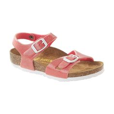 Birkenstock Toddler/Little Kid Rio Sandal   FEATURES of the Birkenstock Women's Rio Sandal Cork and latex footbed designed to mirror the Read  more http://shopkids.ca/birkenstock-toddlerlittle-kid-rio-sandal/
