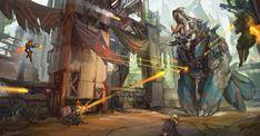 ArtStation - Hi-Rez Studios - Early Development, Max Davenport