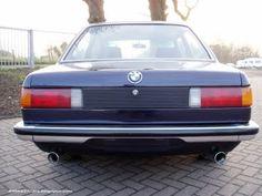 Clean looking European spec rear bumper on this BMW E21