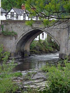 ~Llangollen bridge over the River Dee~