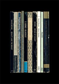 David Bowie Heroes Album As Penguin Books by StandardDesigns