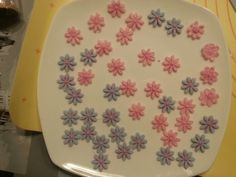 Blumen Plates, Tableware, Flowers, Licence Plates, Plate, Dinnerware, Dishes, Dish, Place Settings
