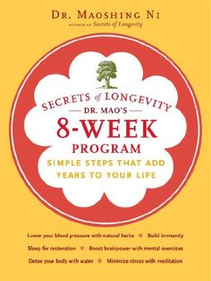 Secrets of Longevity Dr Maos 8Week Program Simple Steps That Add Years to Your Life >>> To view further for this item, visit the image link.