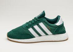 adidas Iniki Runner (Collegiate Green / Ftwr White / Gum) #lpu #sneaker #sneakers