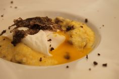 Polenta with Cream and Truffles - Truffle Traders