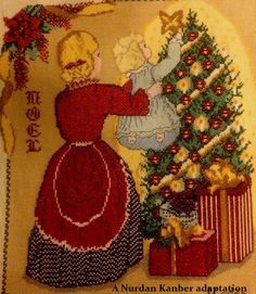 The Bonnet girls Christmas pattern - My adaptation 2013 original pattern is from bonnetgirls.com/...