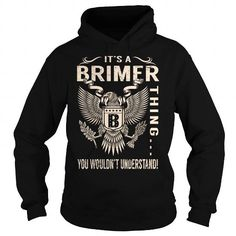 Cool Its a BRIMER Thing You Wouldnt Understand - Last Name, Surname T-Shirt (Eagle) T shirts
