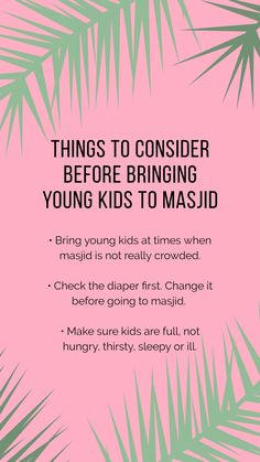 Thinking about bringing young kids to masjid? Here are some tips. First Year, First Time, One Year Old, Mosque, Islam, Religion, Bring It On, Parenting, Faith