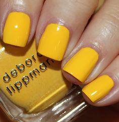 Deborah Lippmann Walking On Sunshine | #EssentialBeautySwatches | BeautyBay.com