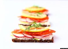 Egg and Smoked Salmon Open-Faced Breakfast Sandwich | Recipe | Smoked ...