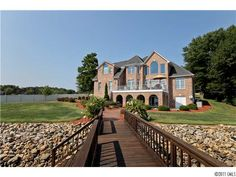 ISLAND POINT WATERFRONT HOME for SALE in SHERRILLS FORD, NC | LAKE NORMAN