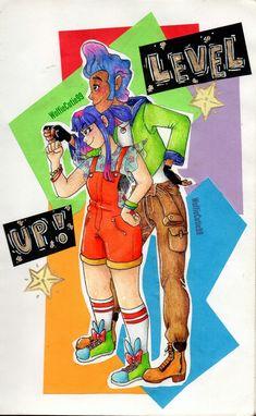 Video Game Show, Saitama One Punch Man, Cool Cartoons, Glitch, Bugs, Fandoms, Tech, Fan Art, Youth