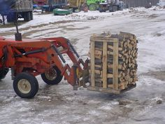 move firewood with tractor | moving pallet with farm tractor 1.jpg