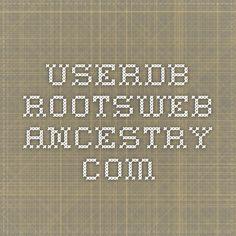 userdb.rootsweb.ancestry.com