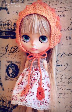 Gorro + vestido para Blythe                                                                                                                                                                                 Más