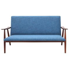 Hans Wegner GE-260 Settee | From a unique collection of antique and modern settees at https://www.1stdibs.com/furniture/seating/settees/