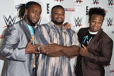 Among the many shifts taking place between the WWE rosters, The New Day is heading to SmackDown. WWE announced the news of Xavier Woods, Big E and Kofi Kingston moving from Raw to the Tuesday night series. The New Day Wwe, Big E Langston, Wrestlemania 33, Xavier Woods, Brooklyn Bowl, Mick Foley, Lost In The Woods, Mix Photo, Wwe Wallpapers