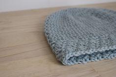 Seafoam beanie Eco friendly crochet hat Wool hat