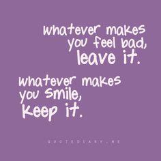 pretty simple advice...
