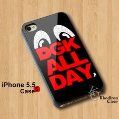 DGK All Day Logo iPhone 5 5S Case  #iphone5 #iphone5s #case