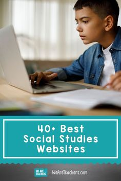 Best Social Studies Websites for Kids and Teens. These are the best social studies websites to help teachers and kids learn about social studies or better teach it, chosen by teachers. Don't you love it when other teachers do the research for us? Social Studies Games, Social Studies Projects, Social Studies Notebook, Teaching Social Studies, Teaching Us History, Teaching Geography, History Education, Art Education, Physical Education