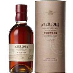 Aberlour A'bunadh Single Malt Scotch Whisky