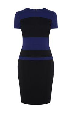 Karen Millen Colour block dress