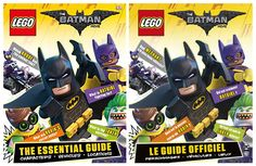 The LEGO Batman Movie The Essential Guide : des visuels inédits des sets LEGO: Le livre intitulé The LEGO® Batman Movie : The… #LEGO