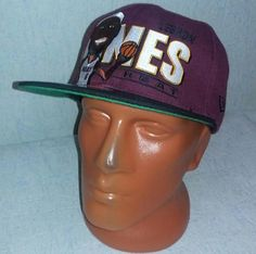 Vintage 90s  Miami Heat Basketball Cap Adjustable Snapback