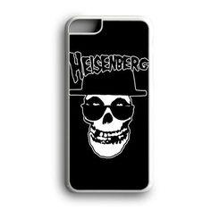 Black Heisenberg Skull Misfits Custom for iPhone Case and Samsung Case