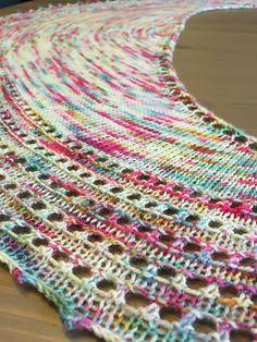 Ravelry: Spindrift Shawl pattern by Helen Stewart