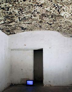 ceiling graffiti