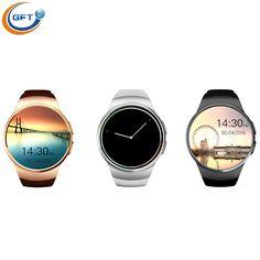 GFT kw18 Smartwatch Bluetooth Smart watch sim Armbanduhr für Apple iPhone IOS Android Telefon unterstützung 16G tf karte MTK2502C //Price: $US $78.29 & FREE Shipping //     #clknetwork