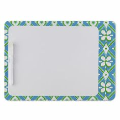 Ikat Bliss Dry Erase Board coming soon to UrbanGirl!