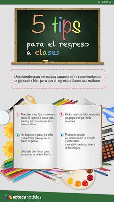 5 tips para el regreso a clases