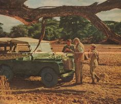 Hemingway in Africa in a Rover. Why should I expect anything less?