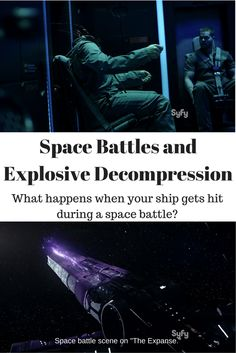 In the show, The Expanse, the Donnager is hit by rail-gun fire from an unknown enemy. Air is sucked out of the cabin from a hole punched by a projectile. How long does the crew have to patch the hole and can physics provide an answer? See Movie, Movie Tv, Space Battles, Science Articles, Travel Items, Best Blogs, What Happens When You, Reading Lists, The Expanse
