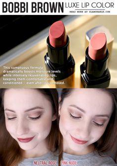 Bobbi Brown Luxe Lip Color Neutral Rose   Pink Nude 07ca4b11beece