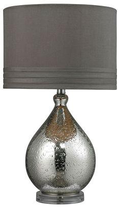 Amazon.com: Artistic Lighting 1-Light Table Lamp, Mercury Glass: Office Products