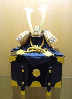 Capacete de Samurai que Ayrton Senna recebeu da fã Minae Uchida