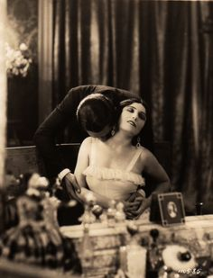 Pola Negri and Nils Asther in Loves of an Actress c.1928