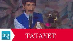 Le ventriloque  Michel Djeneffe et sa marionnette Tatayet. Dans les années 70, mon fils et moi étions aussi émus l'un que l'autre en regardant Tatayet à la télévision, il était si drôle et si touchant...