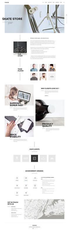 Furion - Creative PSD Template - PSD Templates | ThemeForest