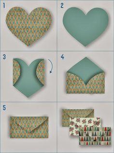 Origami for Everyone – From Beginner to Advanced – DIY Fan Diy Paper, Paper Crafting, Origami Paper, Paper Art, Diy And Crafts, Crafts For Kids, Papier Diy, Diy Envelope, Heart Envelope