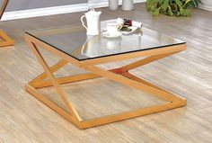 Furniture of America Zoya Collection Coffee Table CM4121C